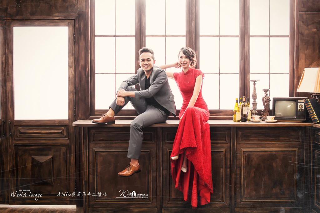 台中韓式婚紗攝影推薦文樂