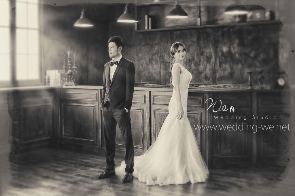 台中韓式婚紗攝影文樂影像