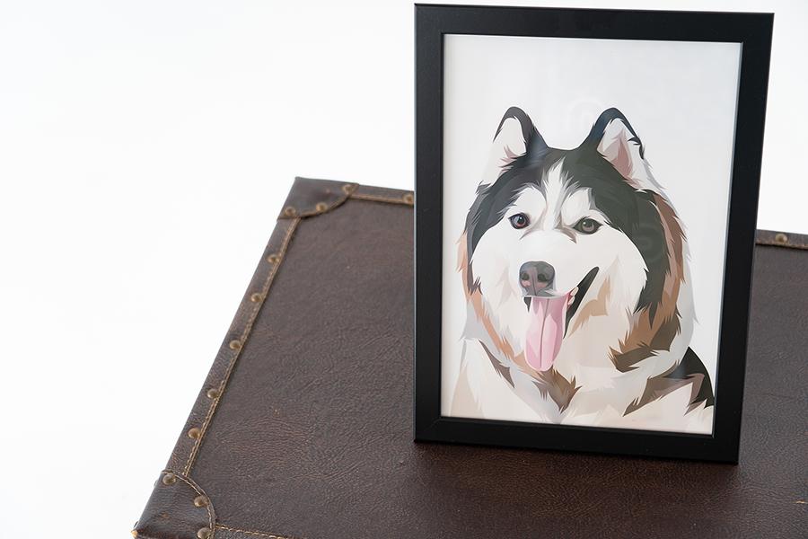 台中寵物寫真寵物證件照狗狗貓咪寫真毛小孩寫真大頭照狗狗潔牙骨